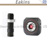 Magnifier 1080P HDMI USB Intelligence Industrial Digital Microscope Camera Video Calibrate Camera Measuring+120X Lens