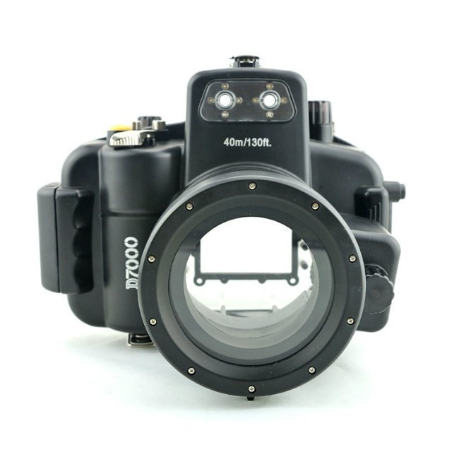 40M 130ft D7000 Camera Waterproof Cover Underwater Housing Hard Case for Nikon D7000 DSLR Camera 40m 130ft waterproof diving underwater dslr camera housing case for canon g9x
