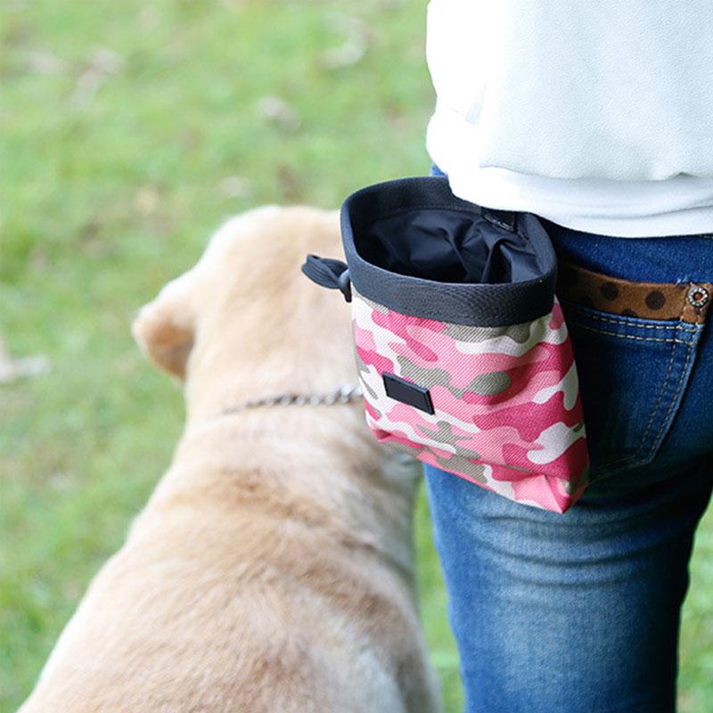 المحمولة انفصال الكلب التدريب علاج أكياس الكلب تغذية جيب الحقيبة جرو سناك مكافأة الخصر حقيبة التدريب والسلوك الإيدز