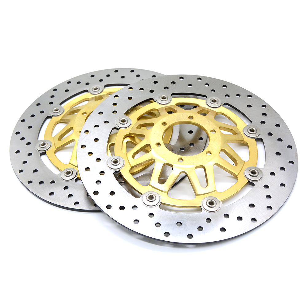 new motorcycle Aluminum alloy inner ring & Stainless steel outer ring Front Brake Disc Rotor For HONDA CB400 94-98 1994-1998 motorcycle aluminum alloy inner ring