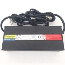 Быстрое зарядное устройство 66,4 в 6,5a для Dualtron, Электрический скутер 100 240 в, подходит для стандарта США или ЕС