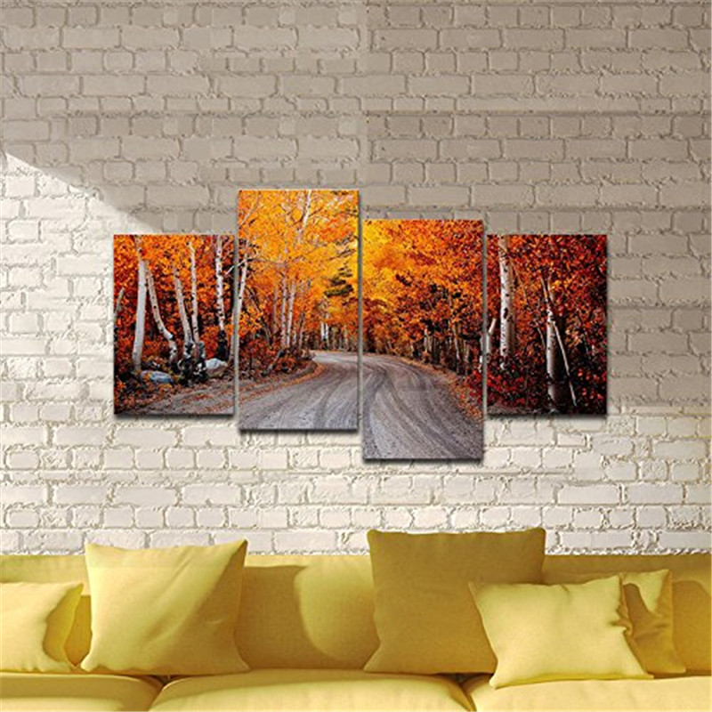 Online buy wholesale nature roads from china nature roads for Buy modern art prints