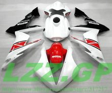 Injection 100%NEW red white bodywork for Yamaha YZF R1 04 05 06 YZF-R1 04-06 YZF1000 YZF R1 2004 2005 2006 #555 ABS Fairing part