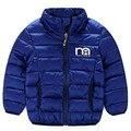 2016 Jaqueta de Inverno para Meninas Parkas Casacos para Meninos 5 cores Acolchoado Casaco Quente para As Crianças Meninos Crianças Outerwear Jaqueta 2 T-8 T