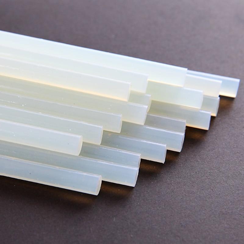 20 kusů / lot Průhledná tavná lepicí tyčinka 7 * 190 mm pro - Elektrické nářadí - Fotografie 3