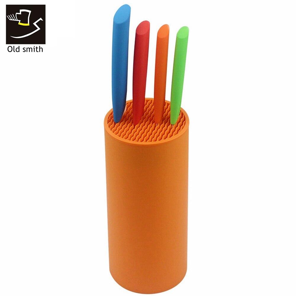 Old Smith Tool holder multifunctional plastic tool holder knife block knife stand sooktops tube shelf chromophous