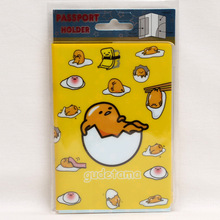 Europe Cartoon Style 2D Passport Holder PVC  Passport Cover Case For Travel,14*9.6cm Card & ID Holders Mini Order 1pcs-Mr eggs