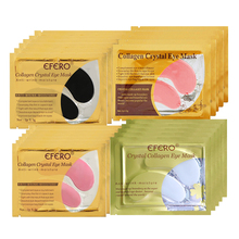 10Pack Collagen Crystal Eye Mask Eyelid Gel Patches Dark Circles Pad Moisture Anti-Wrinkle Protein Eye Patch Mask For Eye Care