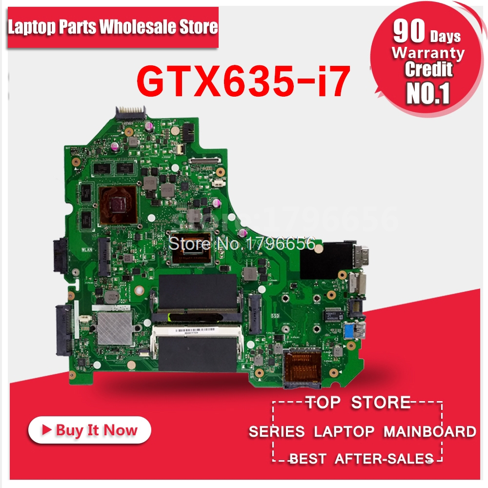 K56CM i7cpu Gt635M 2GB Motherboard For ASUS K56CB K56CM A56C S550CM S56C S550C Laptop Motherboard K56CM Motherboard 100% Ok quying 15 6 inch lcd matrix for asus x502ca x550c s550c a56c s56c k550d x550v y581c notebook laptop replacement screen page 9