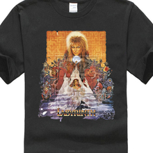 b5f6b0c7a Labyrinth T Shirt Cult Film Movie 1980 S Fantasy Retro Vintage David Bowie (China)