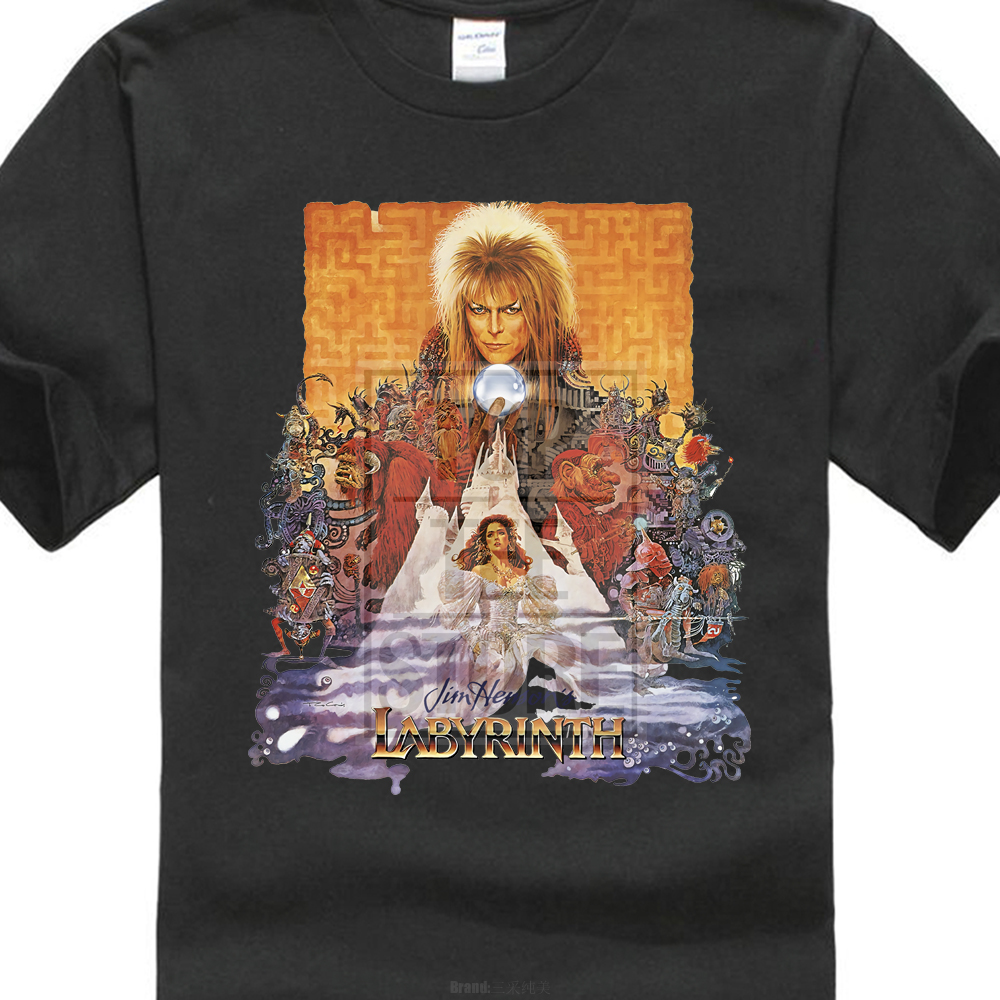 Labyrinth   T     Shirt   Cult Film Movie 1980 S Fantasy Retro Vintage David Bowie