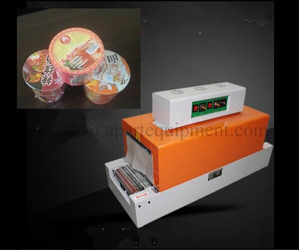 Máquina automática Do Psiquiatra Máquina de Filme Plástico Calor Tubo Do Psiquiatra Da Luva Do Psiquiatra Do PVC Para A Embalagem Do Produto - 6