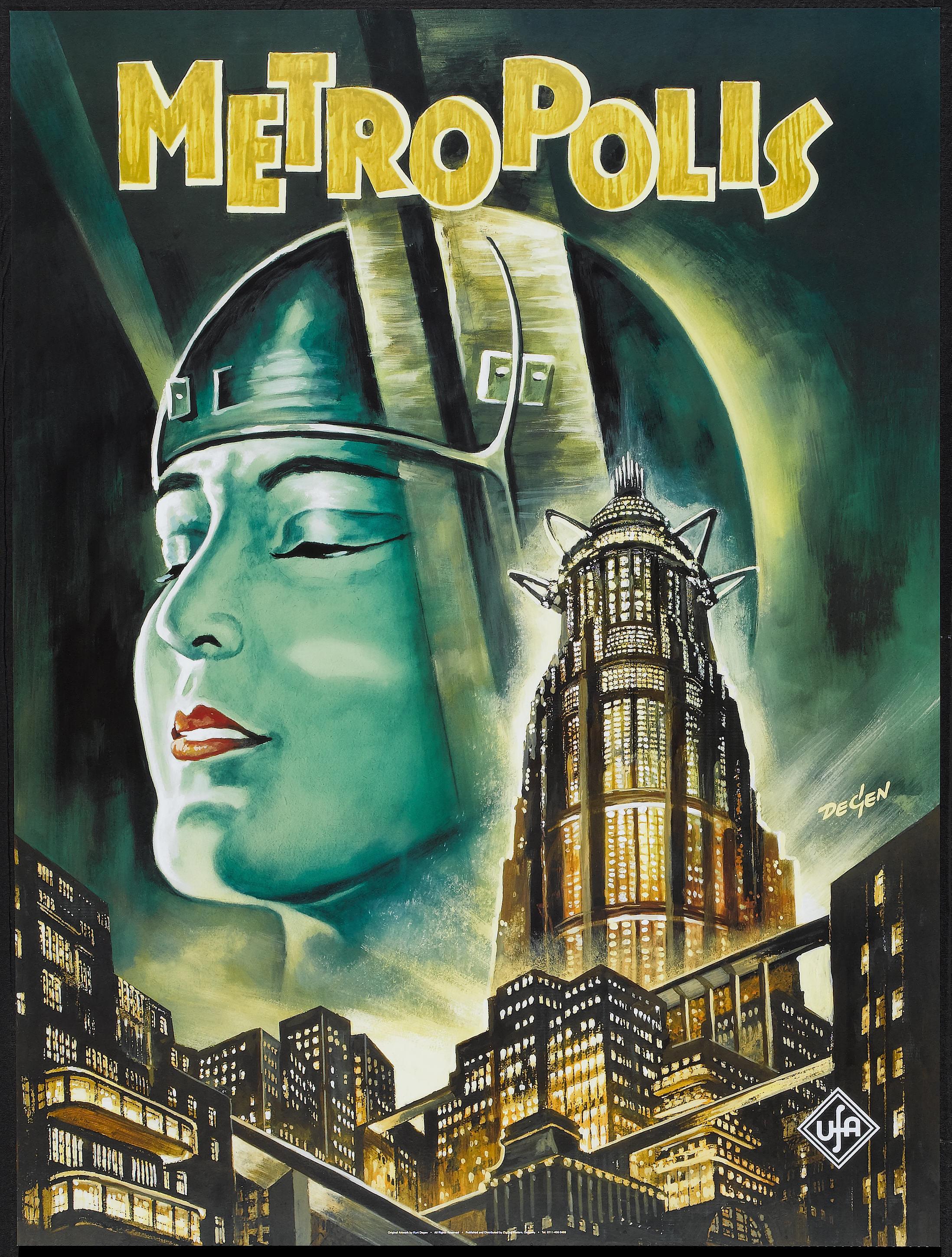 poster pelicula metropolis