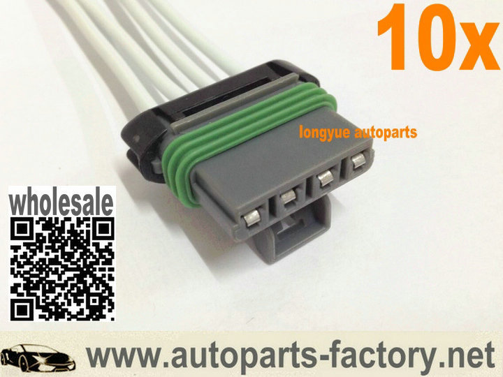 online buy whole motor wire harness from motor wire longyue 10pcs blower motor resistor connector wiring harness 6 mainland