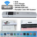Free Shipping!High Speed Portable Scanner A4 Size Document Scanner 1050DPI JPG/PDF Mini Scanner Pen with Pre View PIcture