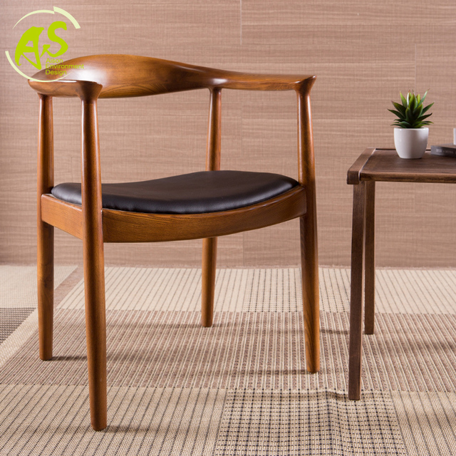 Aisonhome Import Solid Wood Kennedy Ming Chair Contracted And Contemporary  Dining Chair Ikea Coffee Chair Wood