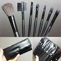 Pinceles de maquillaje Portátil Párrafo Fundación Powder Blush Brush Set de Herramientas Herramientas de Belleza 7 Unids/set M0425