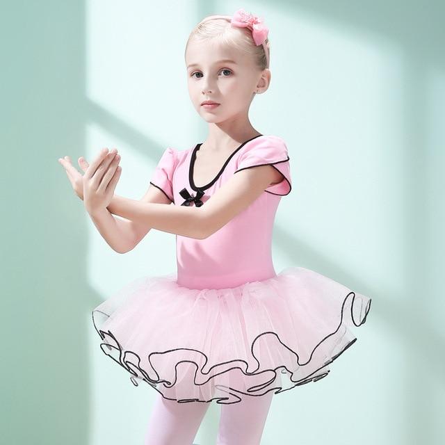 0a98b30a5696 Children s Dance Wear Girls Practice Clothes Little Girl Ballet ...