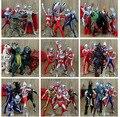 Бесплатная доставка 55 шт./лот Японского Аниме ПВХ Ультрачеловек VS Ultraman монстр фигурки Поколения Классической коллекции Игрушки