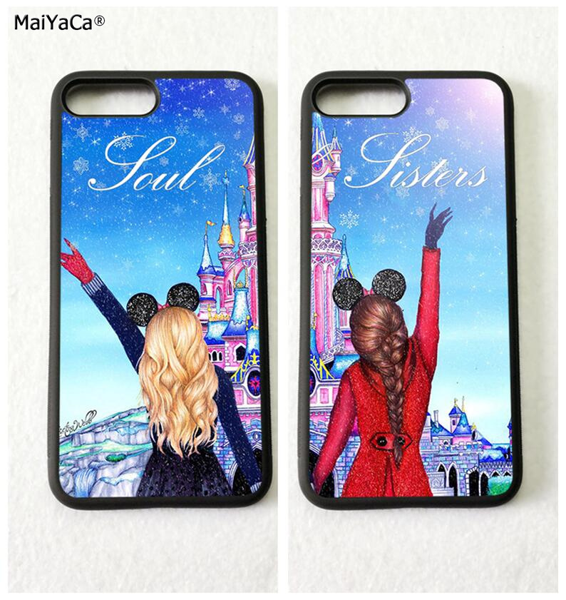 Phone Bags & Cases Cellphones & Telecommunications Bff Spain Cute Cartoon Nurse Doctor Best Friends Silicone Phone Cases For Iphone 5s Se 6 6s Plus 7 7plus 8 8plus X Xr Xs Max Volume Large