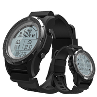 DoubleX S966 Smart Watch Men GPS Waterproof Fitness Tracker Wristwatch Heart Rate Monitor Sport Clock Compass Smartwatch