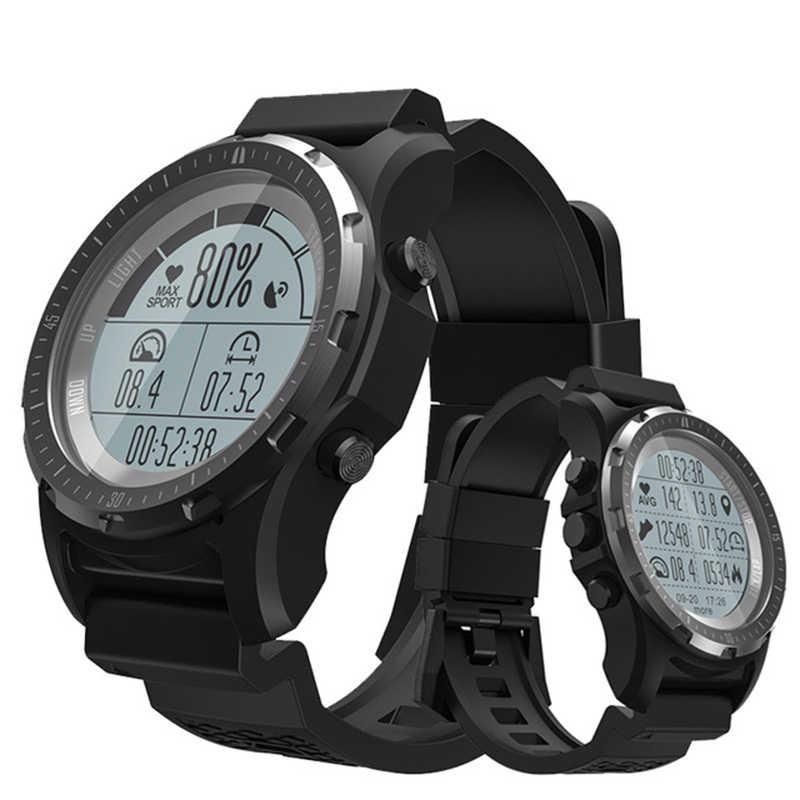 d6f0ff583 DoubleX S966 inteligente Reloj GPS impermeable rastreador de Fitness reloj  Monitor de ritmo cardíaco deporte reloj