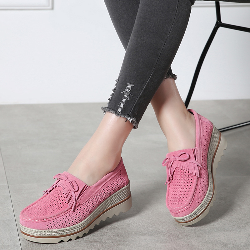 HX 3088 Platform Flats Shoes Women-18
