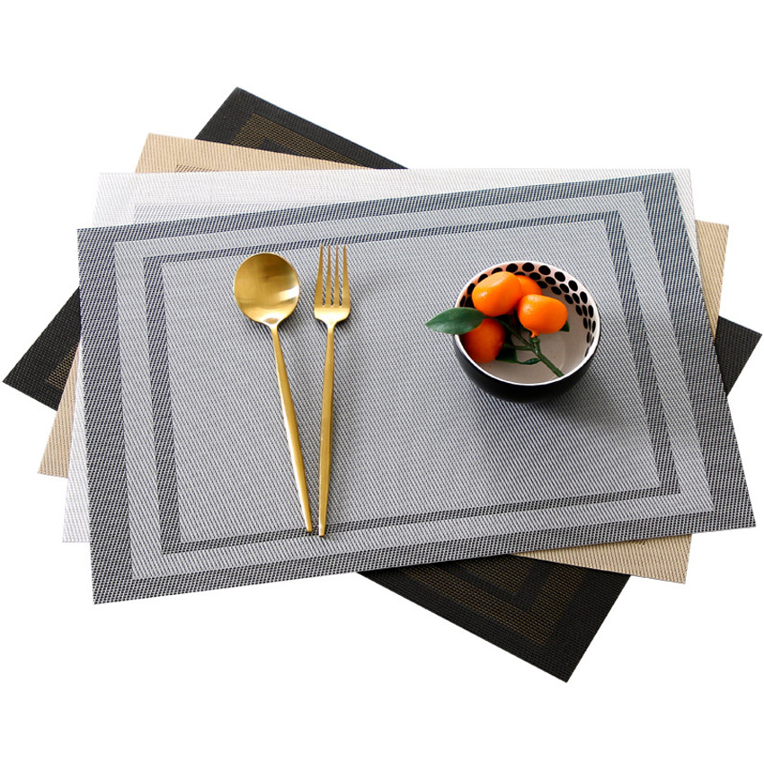 Geometric Placemats Non-slip Dining