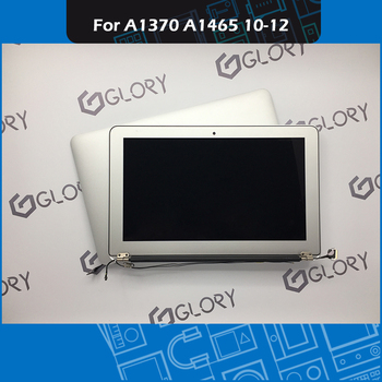 "Genuine A1370 A1465 LCD Screen Assembly for Macbook Air 11"" A1465 A1370 Screen Display Assembly Replacement 2010 2011 2012"