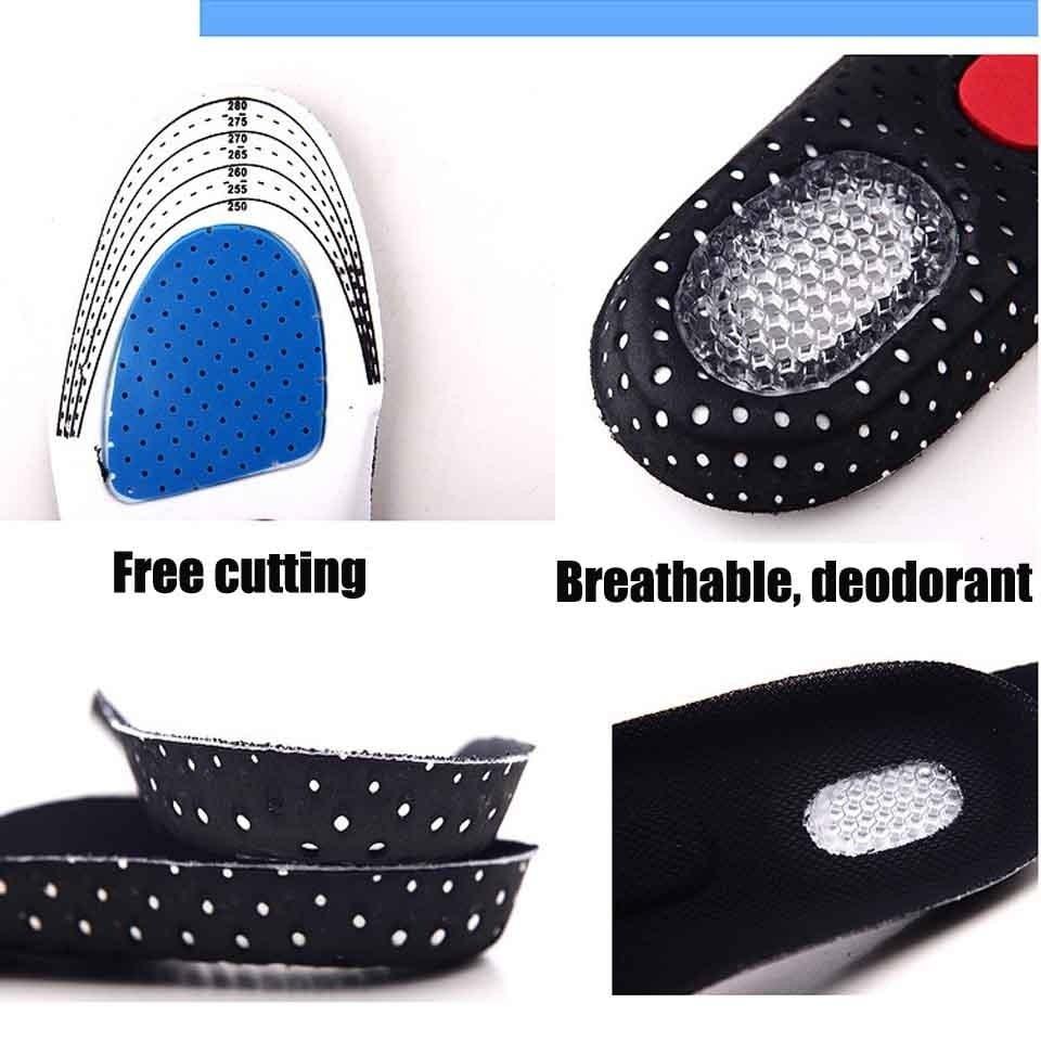 NANCY TINO Unisex Orthotic Arch Support Sport Shoe Pad Sport Running - Accesorios de calzado - foto 2