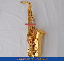 Professional Electrophoresis Gold Saxophone Sax Pearl Shell Key With Case