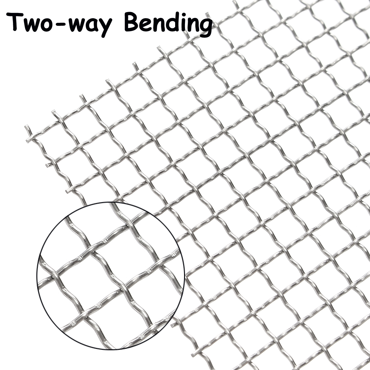 Stainless Steel 304 Mesh #4 .047 Wire Cloth Screen Filter 16\'\'x16 ...