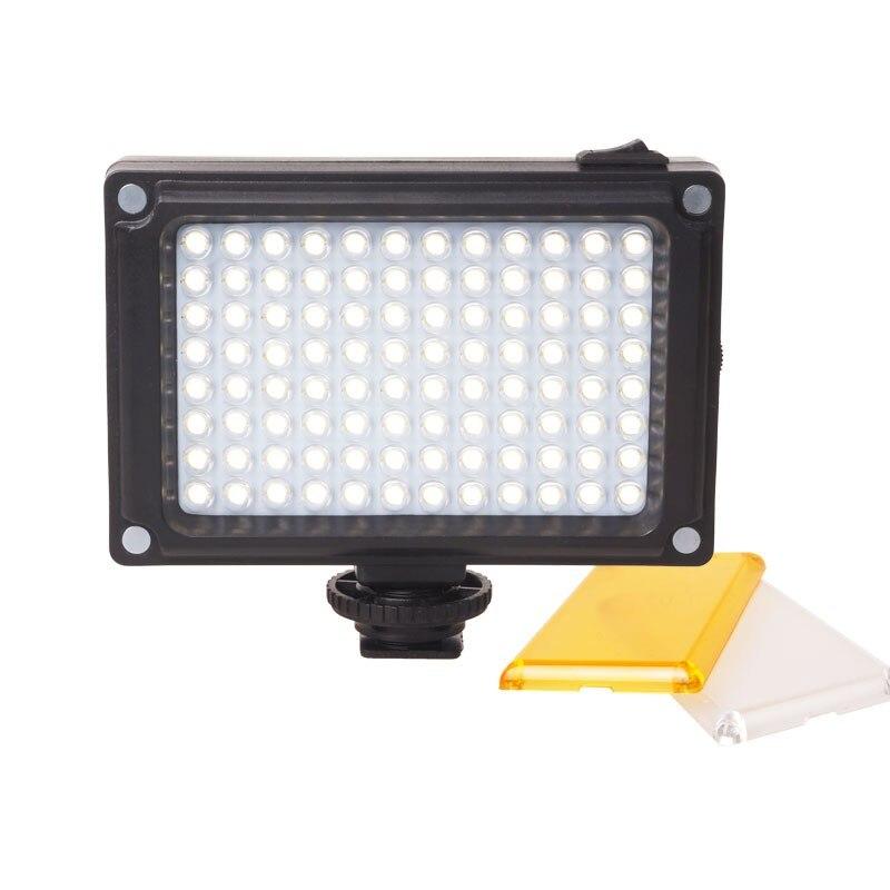 Ulanzi Photographie Éclairage 96 LED Panneau Vidéo Lumière Photo Remplir Flash Lampe Caméra Smartphone Caméscope DSLR Caméra Lumière