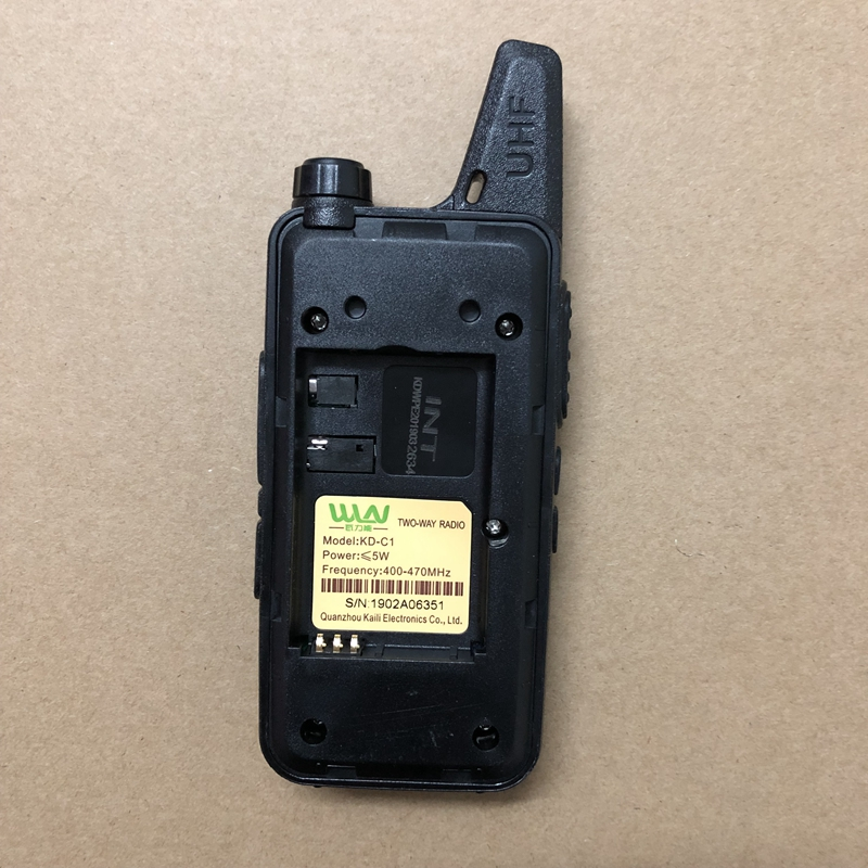 Image 3 - WLN KD C1 UHF 400 470mhz walkie talkie Antenna body integrated ham CB two way radio classic  KD C1 talk walky-in Walkie Talkie from Cellphones & Telecommunications