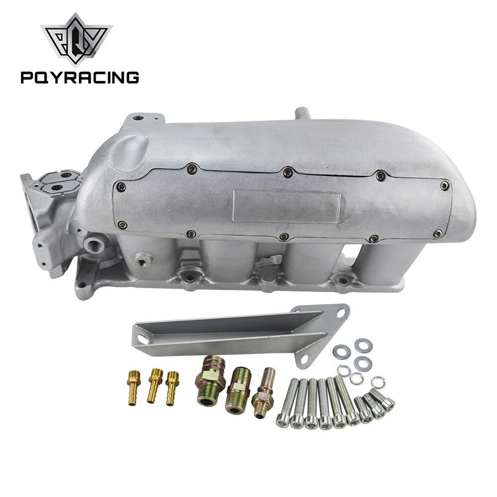 PQY-新しいインテークマニホールドマツダ 3 MZR フォードフォーカス DURATEC 2.0/2.3 エンジンキャストアルミ吸気マニホールド PQY-IM49SL