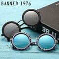 2017 últimas new ronda grano de madera gafas de sol para mujeres de los hombres de la vendimia gafas de sol polarizadas gafas de sol femenino masculino