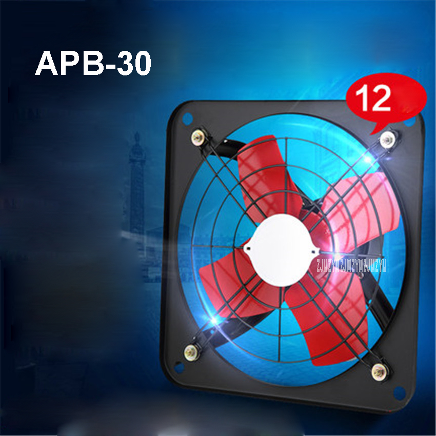 Apb 30 Mini Wall Window Exhaust Fan Bathroom Kitchen