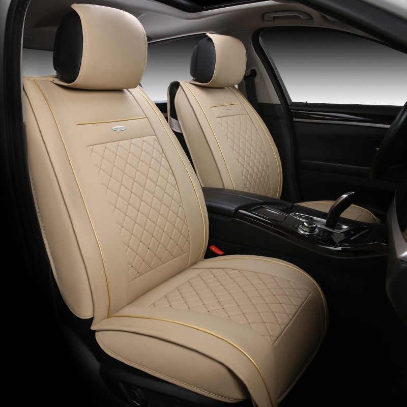 Funda de cuero especial para asiento de coche de alta calidad para Citroen C3-XR C4 Cactus C2 C3 Aircross SUV accesorios para coche estilo de coche