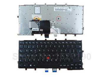 Nuevo teclado de repuesto SP/español para ThinkPad X240 X240S X240I marco negro (Win8, con punto) cuadrado de teclado