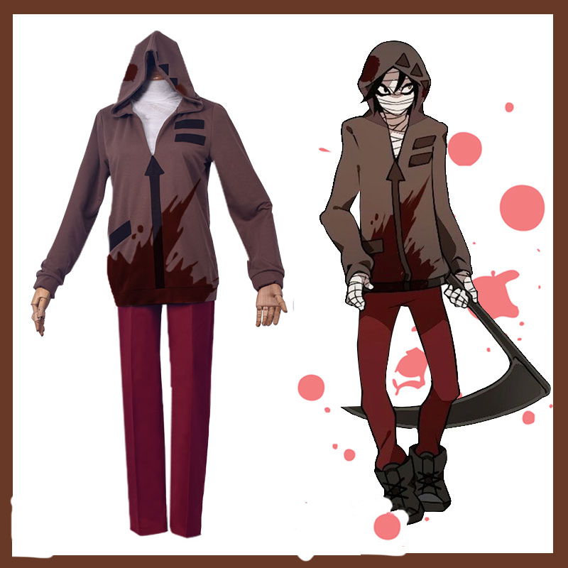 Anime Game Angels of Death Cosplay Isaac Foster Halloween Cos Man Woman Cosplay Costume Full Set