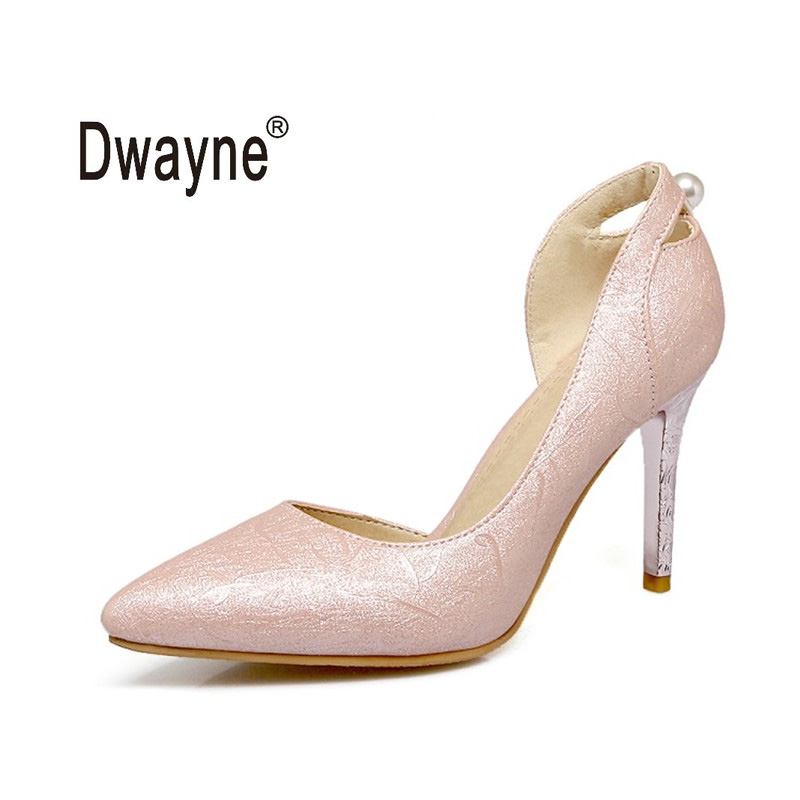 Big Size Women's Shoe 9cm High Heels VM 14 Summer Pumps Party Shoes For Women Wedding Shoes