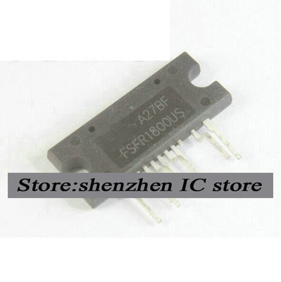 5PCS FSFR1800U SIP9 FSFR1800 FSFR180 AC / DC converter HIGH FPS New original free shipping