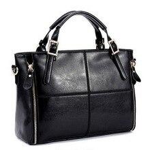 Fashion patchwork designer cattle split leather bags font b women b font font b handbag b