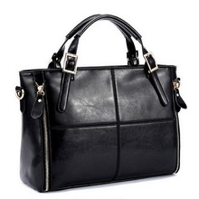 Fashion Patchwork Designer Cattle Split Leather Bags