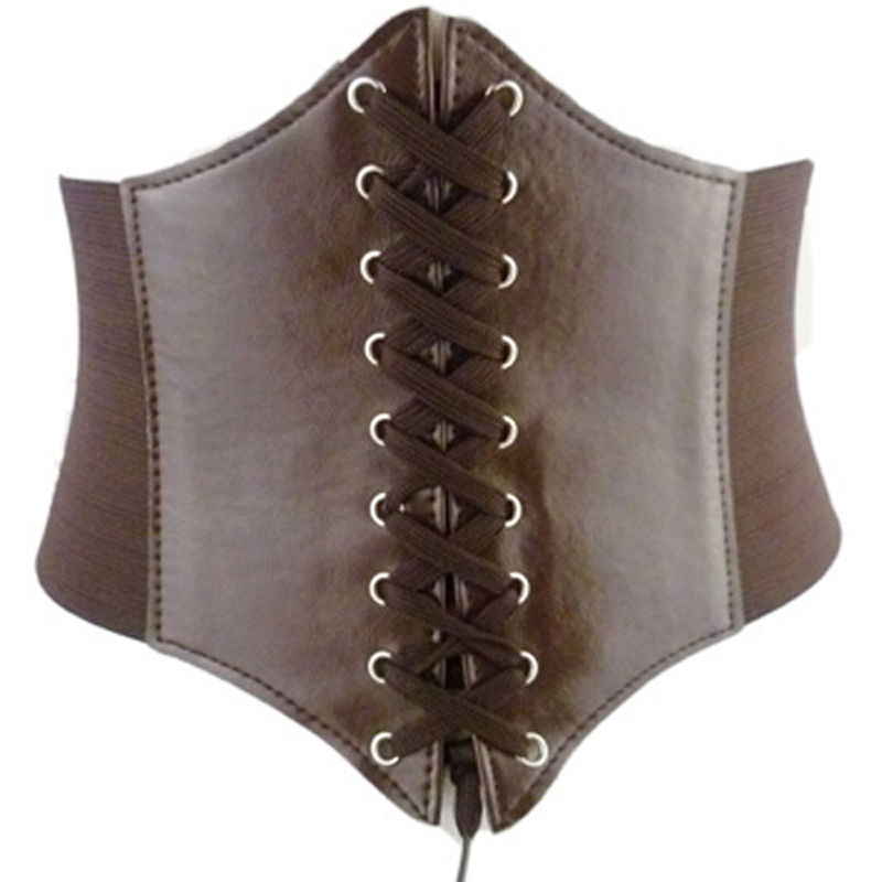 Women Slim Body Shaper Buckle Wide Waistband Waist Belt Underbust Corset Belt