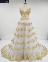 Buy ivory gold wedding dresses and get free shipping on AliExpress.com