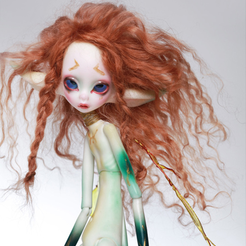 stenzhorn(stenzhorn) 1/6 doll - chateau Brdrice yellow mosquitoes and green mosquito toy doll BJD