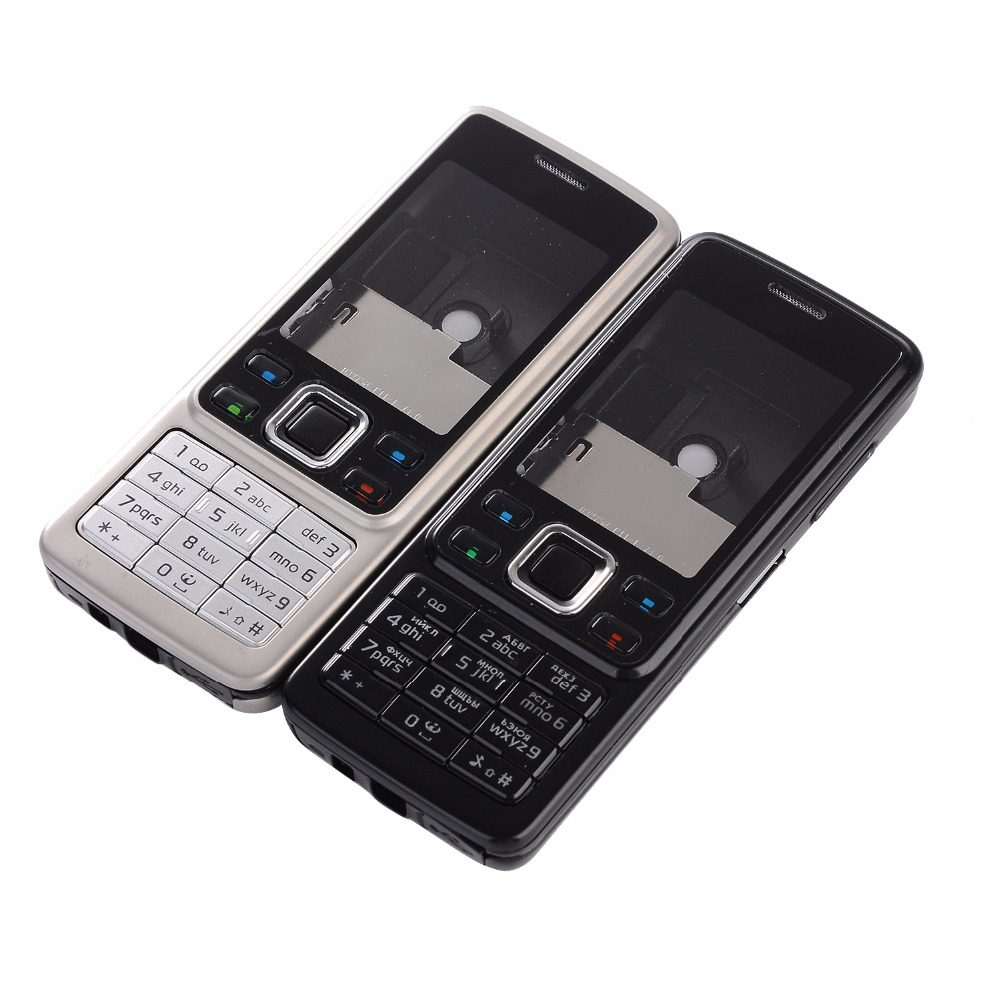 For Nokia 6300 Housing Front Frame+Battery Door+English and Russian keypads +Tools