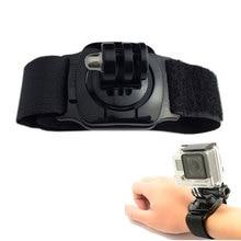 360 Degrees Rotation Hand Wrist Strap Mount With Turn Lock For GoPro Hero 3 3+ 4 SJ4000 SJ5000 Xiaomi yi Camera Accessories