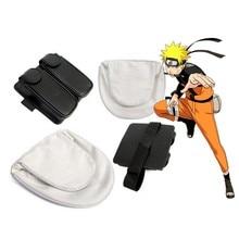 цена Naruto Shuriken Darts Weapons Bag Cosplay Prop Package Uzumaki Naruto Uchiha Sasuke Anime Shuriken Weapons Accessories онлайн в 2017 году